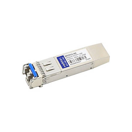 AddOn IBM 90Y9412 Compatible TAA Compliant 10GBase-LR SFP+ Transceiver (SMF, 1310nm, 10km, LC, DOM)