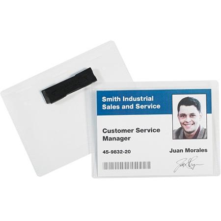 Office Depot® Brand Magnetic Badge Holders, 4