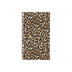 "Nicole Miller Monthly Planner, 3 5/8"" x 6 1/8"", 50% Recycled, Leopard, January - December 2016"