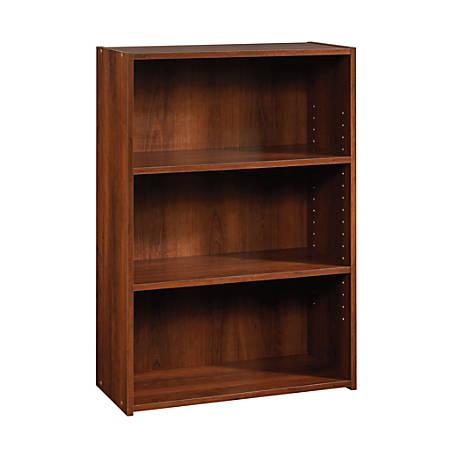 Sauder® Beginnings Bookcase, 3 Shelf, Brook Cherry