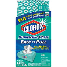 Clorox Disinfecting Wipes Fresh Scent 33