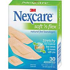 Nexcare Soft n Flex Bandages Assorted