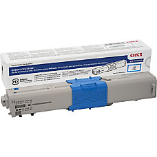 OKI Cyan original toner cartridge for
