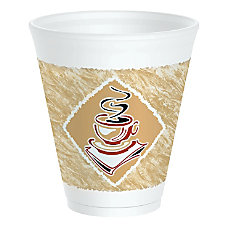 Dart Caf G Design Foam Cups