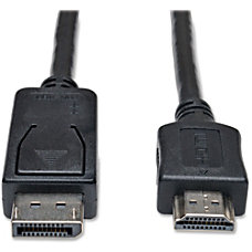 Tripp Lite 3ft DisplayPort to HDMI