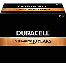 Duracell Coppertop D Alkaline Batteries Box
