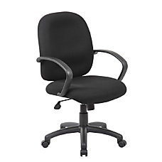 Boss Office Products Ergonomic Budget Tweed