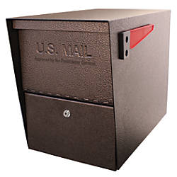Mail Boss Package Master Locking Mailbox