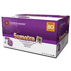 Copper Moon Coffee Single Cups Sumatra
