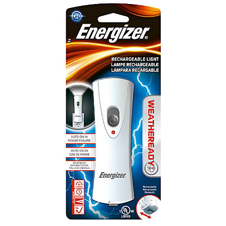 Energizer® Weather Ready LED Flashlight With Nightlight, Off-White