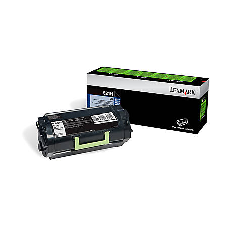 Lexmark™ 52D1H0L High-Yield Black Toner Cartridge For Labels