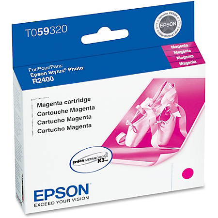 Epson® T0593 (T059320) UltraChrome™ K3 Magenta Ink Cartridge