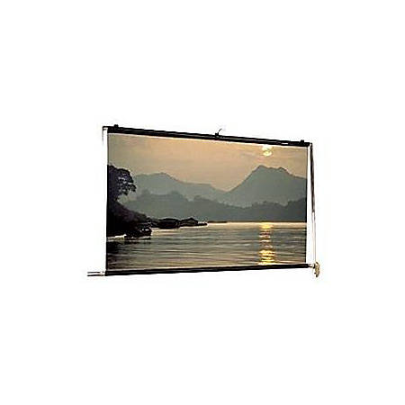 """Da-Lite Scenic Roller Manual Wall and Ceiling Projection Screen - 216"""" x 216"""" - Matte White - 300"""" Diagonal"""