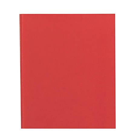 Office Depot® Brand School-Grade 3-Prong Paper Folder, Letter Size, Red
