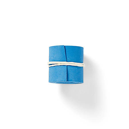 """Medline Non-Latex Tourniquets, Rolled, 3/4"""", Blue, Pack Of 100"""