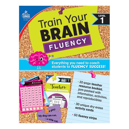 Carson Dellosa Education Train Your Brain: Fluency Level 1 Classroom Kit, Grades K-1