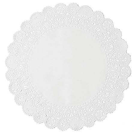 DOILIES LACE 10IN 10CT