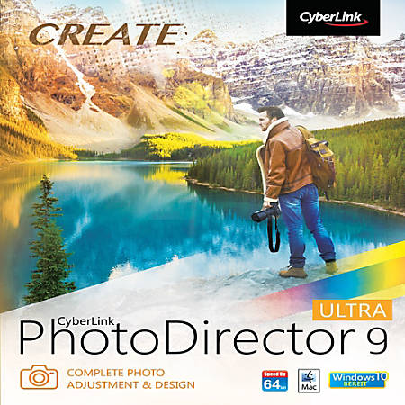 CyberLink PhotoDirector 9 Ultra, Download Version