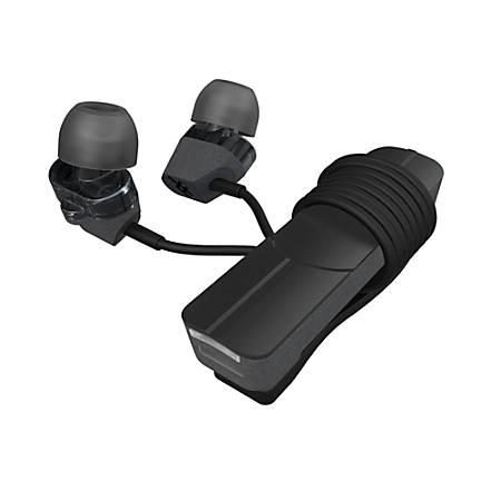 iFrogz Impulse Duo Wireless Earbud Headphones, Black, IFDDWE-CB0