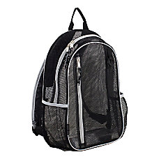 Eastsport Sport Mesh Backpack BlackSilver