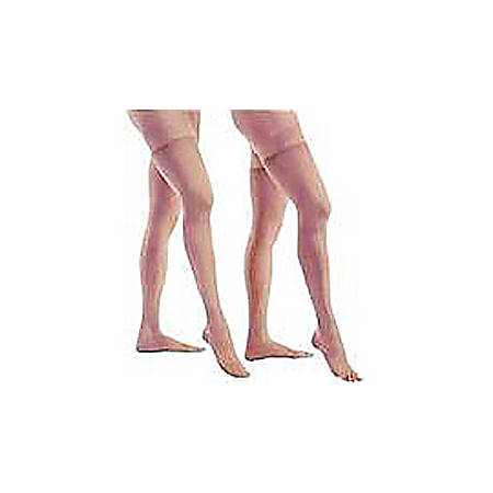 """Relief® Therapeutic Support Unisex Thigh High Stockings, 20-30 mmHg, Closed Toe, Medium (Ankle Circumference: 8 3/8""""-9 7/8"""", Calf Circumference: 11 7/8""""-16 1/2"""", Thigh Circumference: 18 1/8""""-27 1/2"""") 1/Each"""