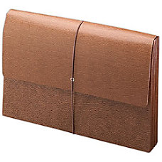 Smead Leather Like Expanding Wallet Legal