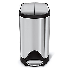 simplehuman Butterfly Step Stainless Steel Trash