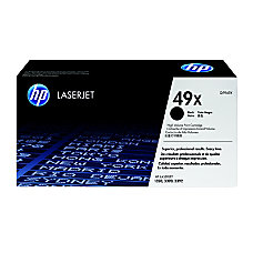 HP 49X Black Original Toner Cartridge