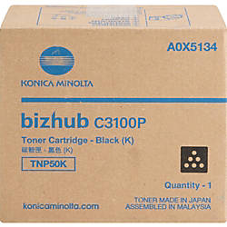 Konica Minolta TNP50K Original Toner Cartridge