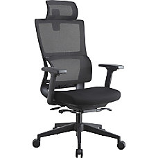 Lorell High Back Mesh Chair With