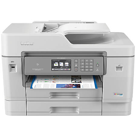 Brother INKvestment Wireless Color Inkjet All-In-One Printer, Scanner, Copier, Fax, MFC-J6945DW