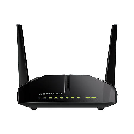 Netgear® AC1200 Wireless DOCSIS® 3.0 Cable Modem Router, C6220-100NAS