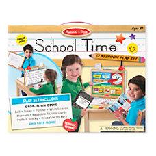Melissa Doug Educational Toy School Time