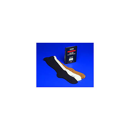 """T.E.D.™ Knee Length Anti-Embolism Stockings For Continuing Care, Large/Regular: Calf Circumference: 15""""-17 1/2"""", Length: 18"""", White"""