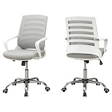 Monarch Specialties Mid Back Office Chair