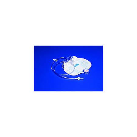 CURITY™ Drain Bag With Anti-Reflux Chamber, SPLASHGUARD II™ Drain Spout, CSR Wrap, 2000 mL