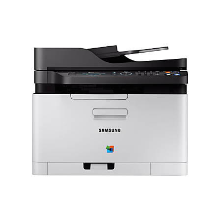 Samsung Xpress SL C480FW Wireless Color Laser Printer By Office