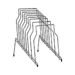 Fellowes Wire Step File 8 Compartments 8 Dividers 11.8