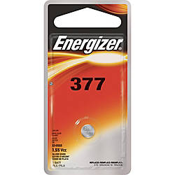 Energizer 377 WatchElectronic Battery Silver Oxide