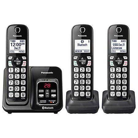 8f3452d9c Panasonic® KX-TGD563M DECT 6.0 PLUS Expandable Digital Cordless Phone System