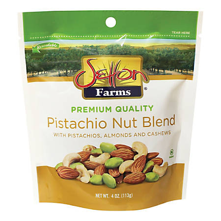Setton Pistachio Nut Blend, 4-Oz Bag
