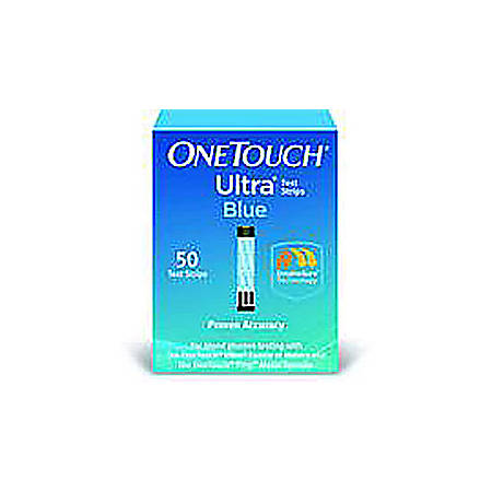OneTouch® Ultra® Test Strips, Box Of 50