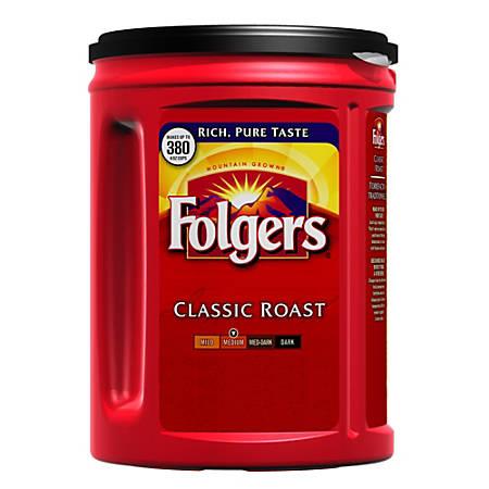 Folgers® Classic Roast Coffee, 48 Oz Can