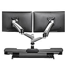 VARIDESK Dual Monitor Arm 360 Gray