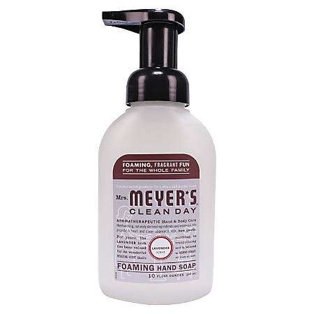 Mrs. Meyer's Clean Day Foaming Hand Soap, Lavender Scent, 10 Oz