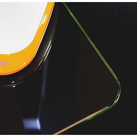 Desktex Glaciermat Glass Desk Pad 36 Width x 20 Depth ...