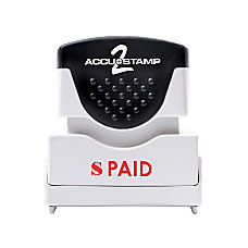 Accu Stamp2 Shutter One Color Stamp