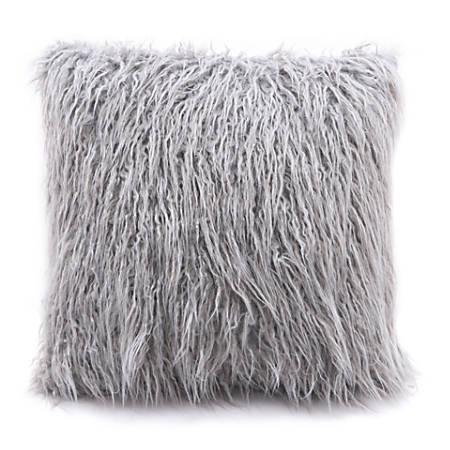 Zuo Modern Angie Pillow, Gray