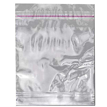 """Elkay Plastics Polypropylene Resealable Sandwich Bags, 5"""" x 5"""", Clear, Pack Of 1,000 Bags"""