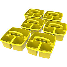 Storex Small Plastic Caddies 5 14